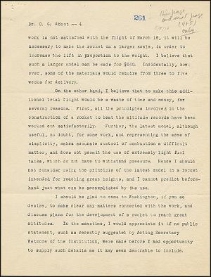 Robert Goddard Report - May 5, 1926 - Page 4