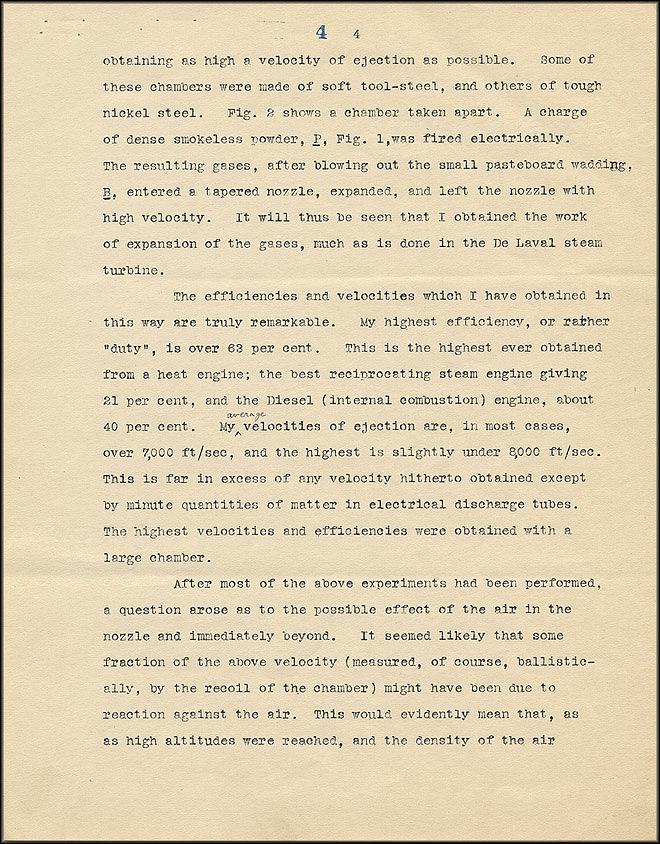 Robert Goddard Proposal - Sept 27, 1916 - Page 4