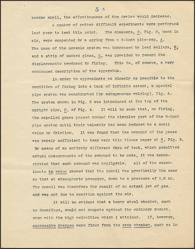 Robert Goddard Proposal - Sept 27, 1916 - Page 5