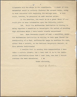 Robert Goddard Proposal - Sept 27, 1916 - Page 7