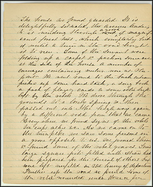 Mary Henry Diary, Southern Army - July, 1864 - Page 11