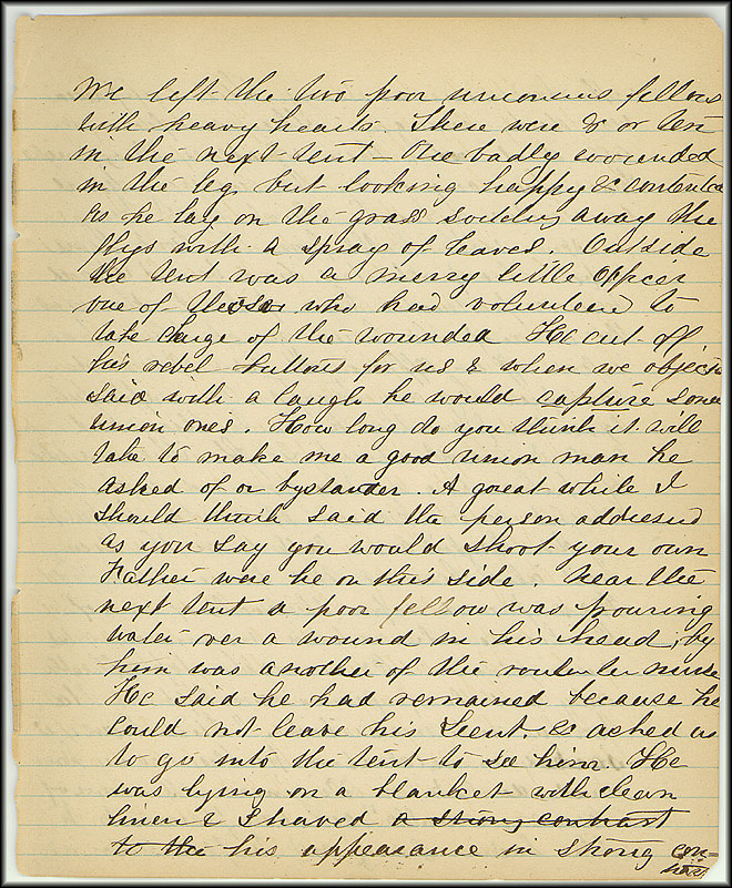 Mary Henry Diary, Southern Army - July, 1864 - Page 13