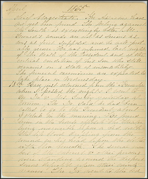 Mary Henry Diary, Lincoln - April, 1865 - Page 7