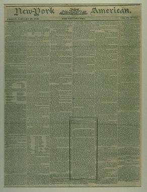 New-York American, January 26, 1830