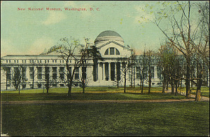Postcard of the New National Museum, c. 1911