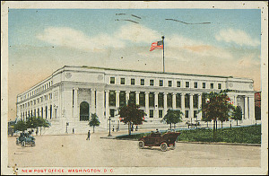Postcard of the New Post Office