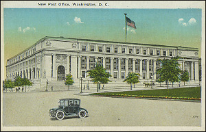 Postcard of the New Post Office #5714