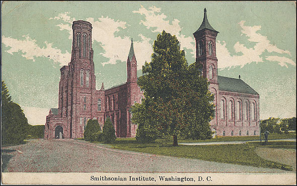 Postcard of the Castle, c. 1912