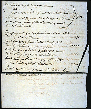 Inventory of James Smithson's Belongings,1829, Page 4