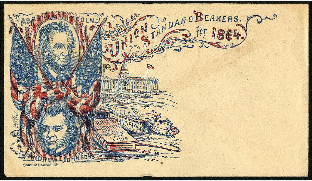 1864 Lincoln Presidential Campaign Cover