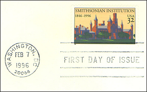 Smithsonian 150th Anniversary Stamp