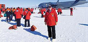 Clough in Antarctica