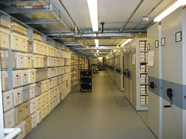 Collection Storage for SI Archives in Capital Gallery