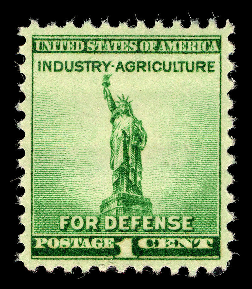 images for 1c Statue of Liberty single