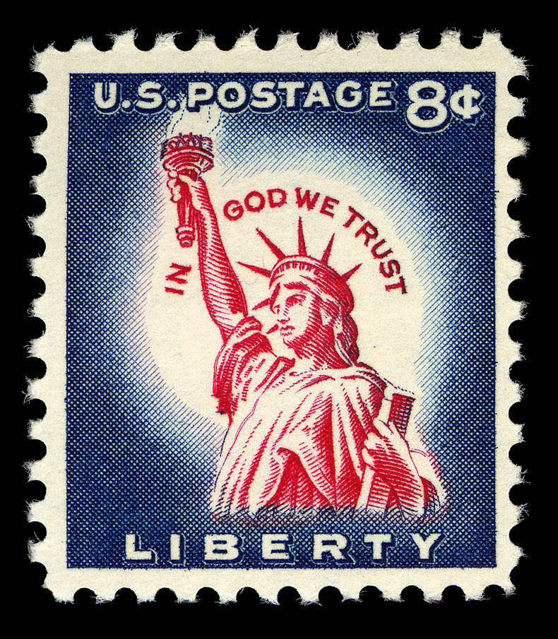 images for 8c Statue of Liberty single