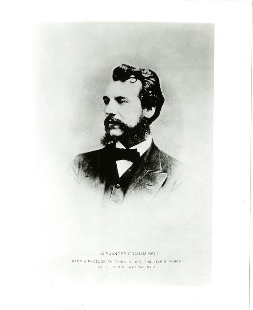 image for Joseph Henry Advises Alexander Graham Bell on Development of Telephone