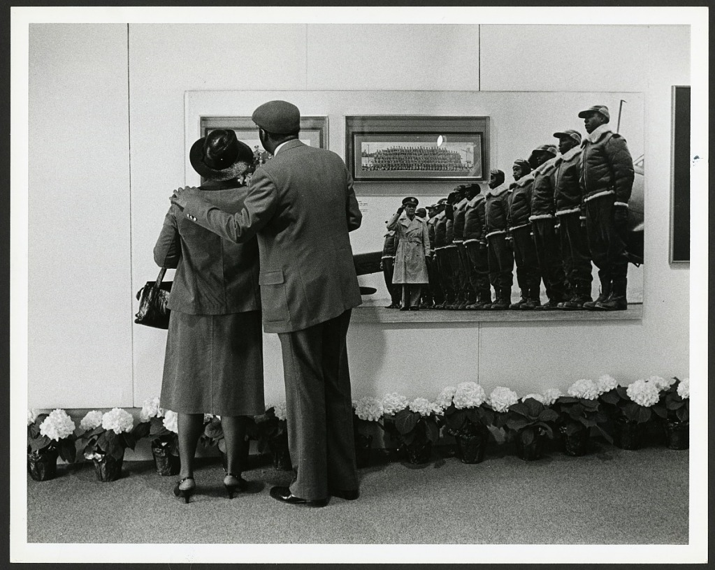 "image for Couple Enjoys ""Black Wings"" exhibit, Anacostia Museum"