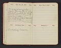 View Gertrude Abercrombie diary digital asset: pages 1