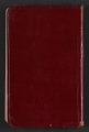 View Gertrude Abercrombie diary digital asset: cover back