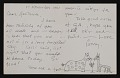 View Jerome Karidis letter to Gertrude Abercrombie digital asset number 1