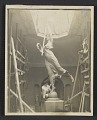 """View Robert Aitken working on the figure """"Winged Victory"""" for the Dewey Monument digital asset number 0"""