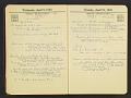 View Grace Albee diary digital asset: pages 45