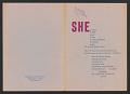 """View """"SHE"""" poem pamphlet digital asset number 0"""