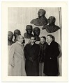 View Edmond Amateis with Eleanor Roosevelt at the Polio Wall of Fame digital asset number 0