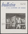 View <em>Bulletin of the Allentown Art Museum</em> digital asset: cover