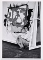 View Helen Frankenthaler in her studio digital asset number 0