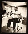View David Hockney in his studio digital asset number 0