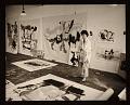 View Helen Frankenthaler in her studio digital asset number 0