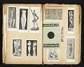 View Alexander Archipenko scrapbook no. 2 digital asset: pages 12