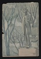 View Watercolor sketch of sculpture of Abraham Lincoln in Lincoln Park, Chicago digital asset number 0