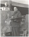 View Diego Rivera at work in his studio digital asset number 0