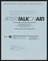 View Artists Talk on Art records digital asset number 2