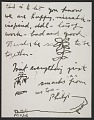 View Philip Guston letter to Elise Asher digital asset: page 2