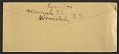 View Philip Guston letter to Elise Asher digital asset: envelope verso