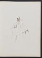 View Sketchbook of variations on the painting <em>Infanta Margaret Teresa in a pink dress</em> digital asset: page 9
