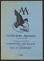 View Audubon Artists constitution and by-laws and roll of membership digital asset: cover