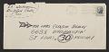 View H. C. Westermann, Brookfield Center Conn. letter to Clayton Bailey, St. Louis, Mo. digital asset: envelope