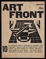 View <em>Art Front</em>, volume 10 digital asset: cover 1