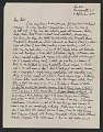 View Robert Burns Motherwell letter to William Baziotes digital asset number 0
