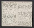 View Cecilia Beaux letter to her sister Ernesta digital asset number 1