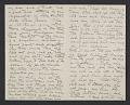 View Cecilia Beaux letter to her sister Ernesta digital asset number 3