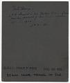 View John Singer Sargent painting a portrait digital asset: verso