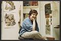 View Miriam Beerman in her studio digital asset number 1