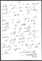 View H. C. (Horace Clifford) Westermann, Brookfield, Conn. letter to Billy Al Bengston, Venice, Calif. digital asset: verso