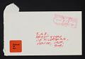 View John Baldessari mail art to Billy Al Bengston digital asset: envelope