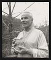 View Photograph of Paulus Berensohn with his pinch pottery digital asset number 0